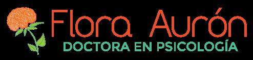 Dra. Flora Aurón Z. Logo