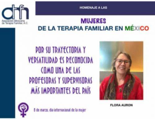 Homenaje a las mujeres de la terapia familiar en México