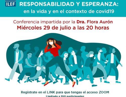 Conferencia: Terapeutas, Violencia, Responsabilidad y Esperanza la vida y en el contexto del Covid19
